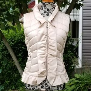 Just In🍁WHBM satiny puffer vest